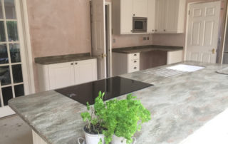 Rosemary Corian Worktops Installed Reading
