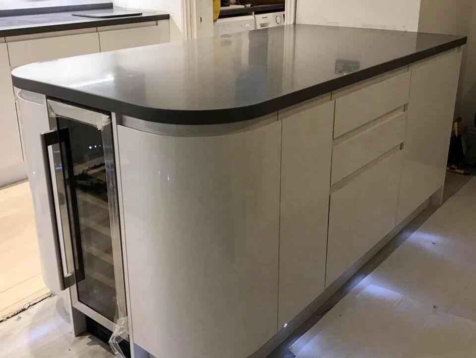 Staron Sanded Tundra Solid Surface Kitchen Worktop