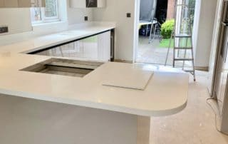 Tristone Pure White Work Surfaces